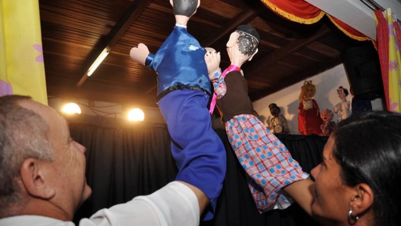 Projeto 'Pontos de Cultura' potencializa trabalho do Mamulengo de Cheiroso