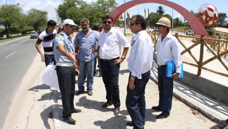 Seinfra e SMTT discutem opção de acesso ao Parque dos Cajueiros