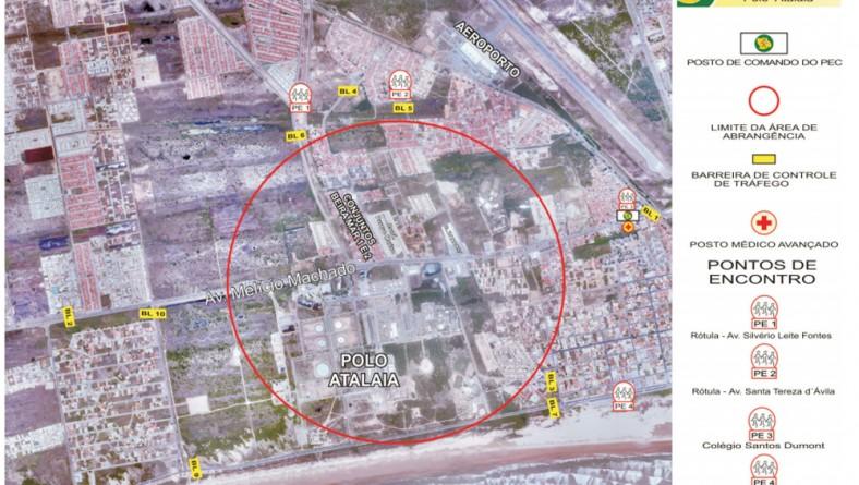 Simulado de evacuação do Tecarmo acontece no próximo sábado, 3