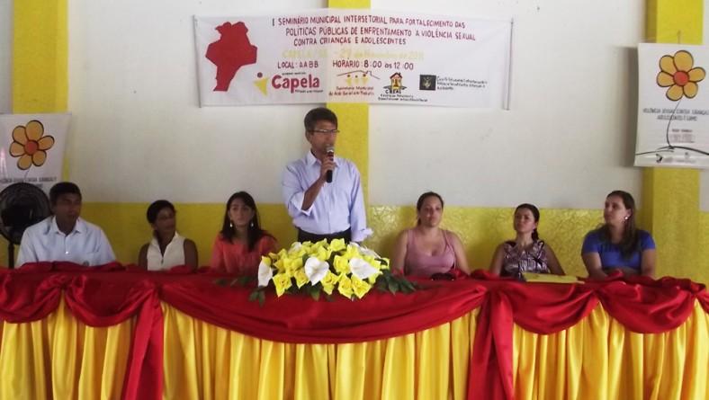Conselho articula ações para enfrentar violência sexual em Capela