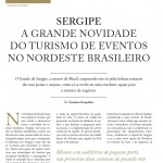 Revista portuguesa destaca turismo de eventos em Sergipe - Fotos: Divulgação