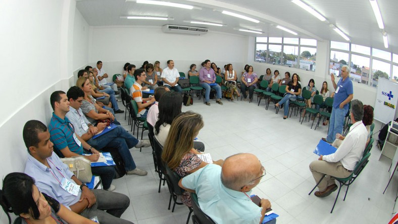SES e Funesa promovem oficina para integração de gestores da Saúde