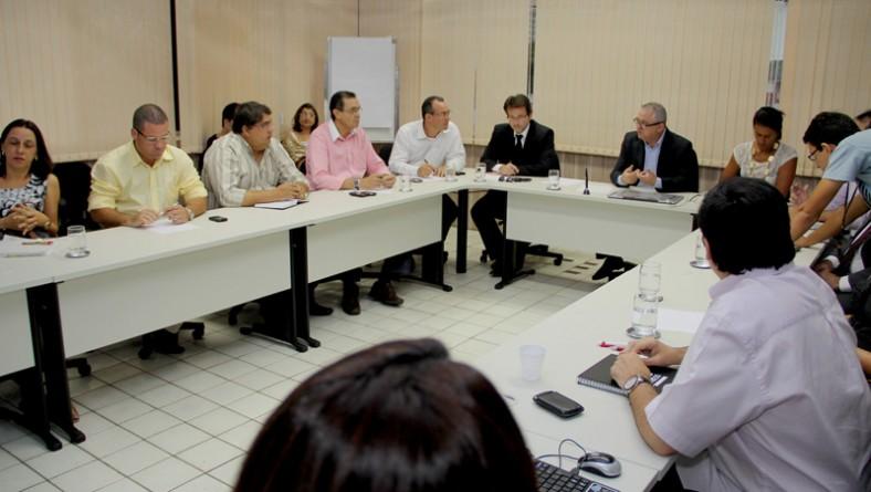Seplag tem primeira reunião objetivando o monitoramento do 'Sergipe Mais Justo'