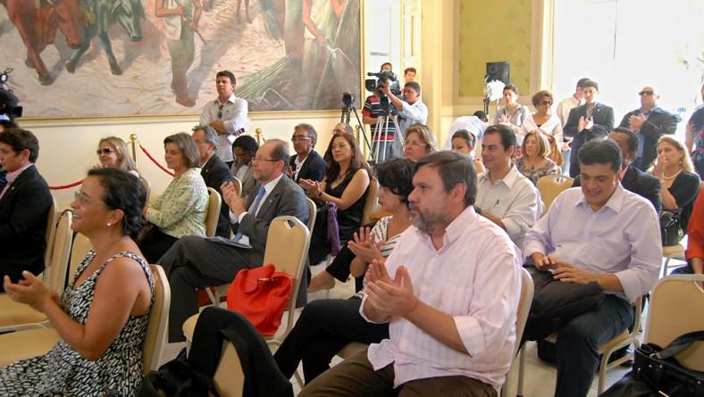 Jackson Barreto faz abertura do Fórum Nacional de Secretários e Dirigentes da Cultura