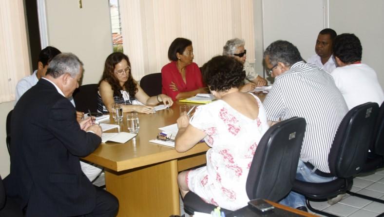Secretário do Planejamento reúne-se com o Sintese