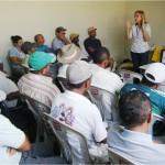 Emdagro realiza palestra destinada a técnicos da Codevasf e agricultores familiares sobre agrotóxico - Foto: Ascom/Emdagro