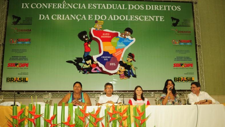 Secretária prestigia IX Conferência da Criança e do Adolescente