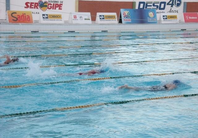 Sergipana garante o bronze no Brasileiro de Natação