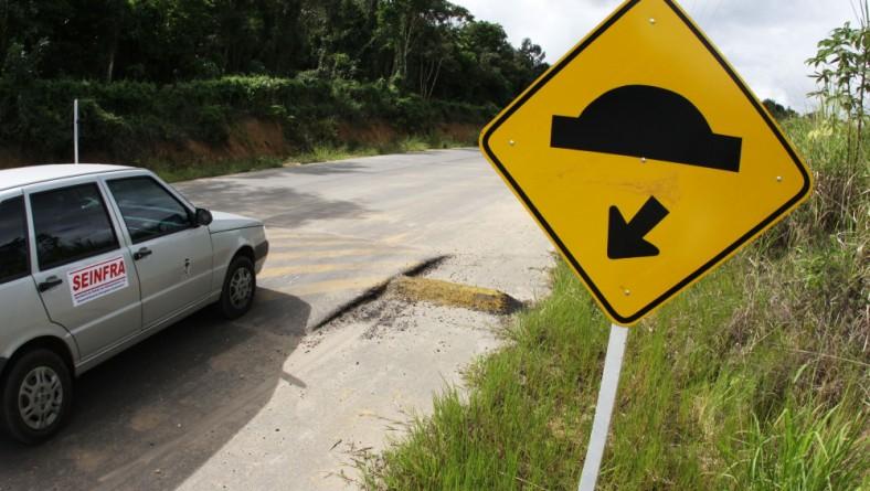 Obras na rodovia que liga Capela e o Miranda à BR 101 estão em conclusão