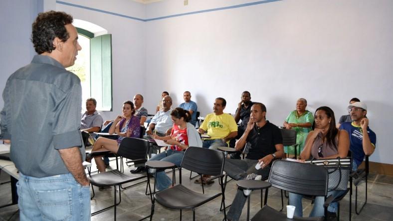 Secult promove oficinas sobre Edital em São Cristóvão