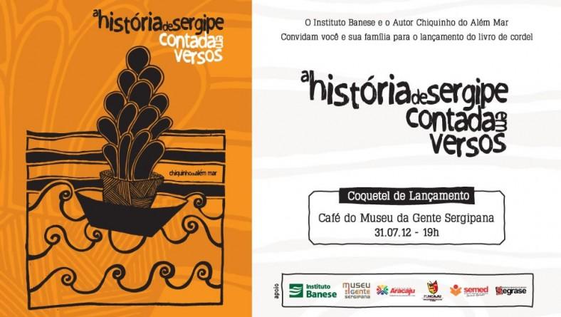 CONVITE – Instituto Banese patrocina lançamento de livro de cordel