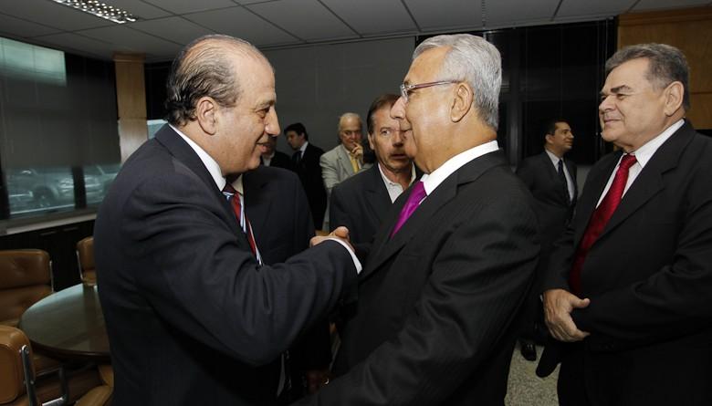 Governador em exercício acompanha palestra do ministro Augusto Nardes
