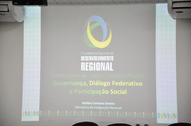 Sedurb participa da I Conferência Estadual do Desenvolvimento Regional