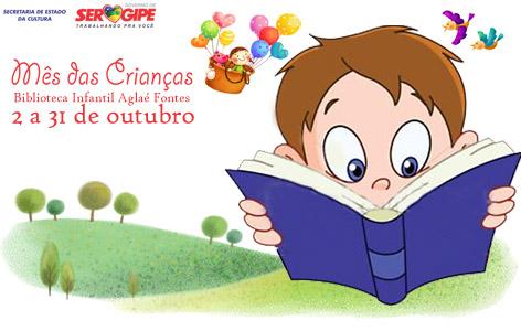 Confira a programação do Mês da Criança na Biblioteca Infantil