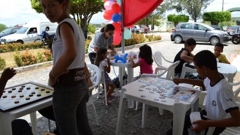 Semana do doador de sangue encerra com jogos e atividades recreativas