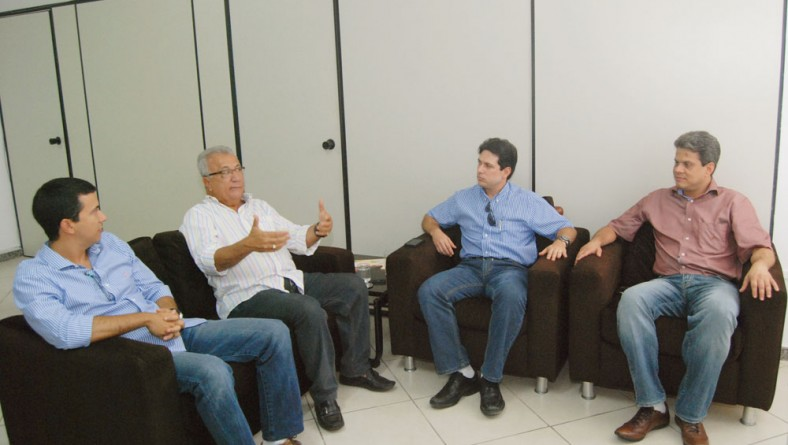 Jackson reúne-se com prefeitos eleitos de Riachuelo e Laranjeiras