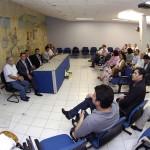 Jackson Barreto assina ordem de serviço para recuperação de cobertura do aeroporto de Aracaju - Fotos: Marcelle Cristinne/ASN
