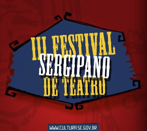 CONVITE À IMPRENSA – Abertura do III Festival Sergipano de Teatro