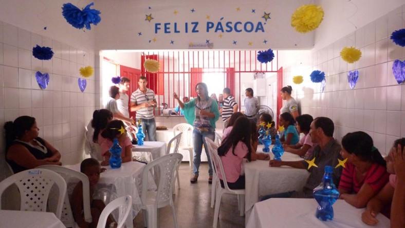 Unidades da Fundação Renascer festejam Páscoa com socioeducandos e seus familiares