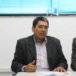 Secretário do Planejamento reúnese com servidores do Ceac - O secretário Jeferson Passos / Foto: Victor Ribeiro/Seplag