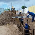 Obras de esgotamento seguem na Zona de Expansão   - Foto: Ascom/ Deso