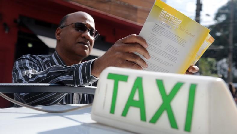 Taxistas de Sergipe terão curso de inglês e espanhol