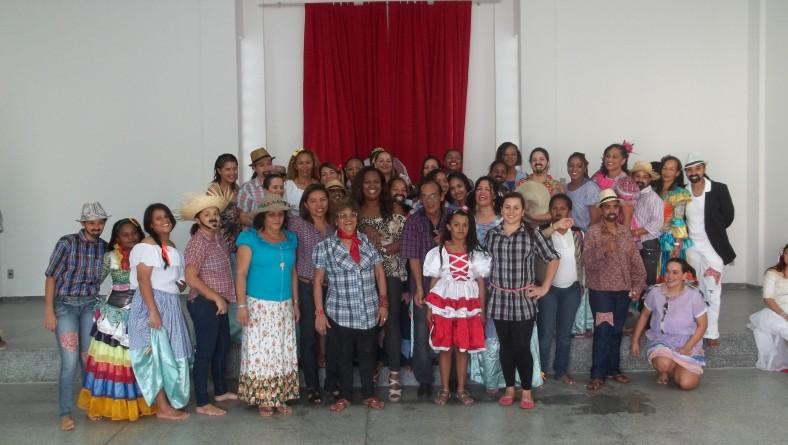 Festa de São João anima Presídio Feminino e marca início do Projeto Penarte/Cela Cultural 2013
