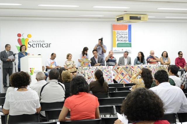 Secult participa da Conferência Municipal de Cultura de Aracaju