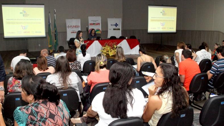 Programa Saúde nas Escolas: 200 profissionais da educação e saúde participam do Seminário