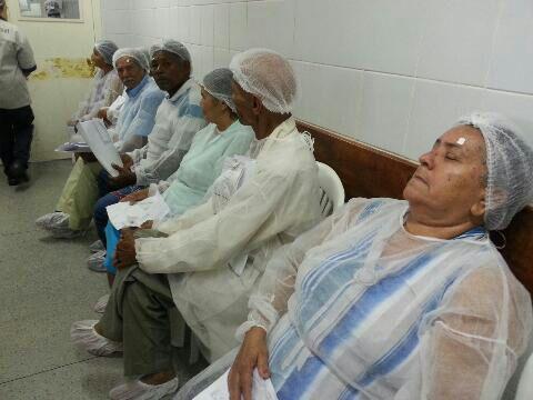 Mais de 400 pessoas serão atendidas no Mutirão de Catarata, em Propriá