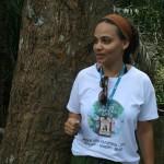 Técnicos da Semarh e pesquisadores da UFS fazem pesquisa na Mata do Cipó  - A coordenadora da UC