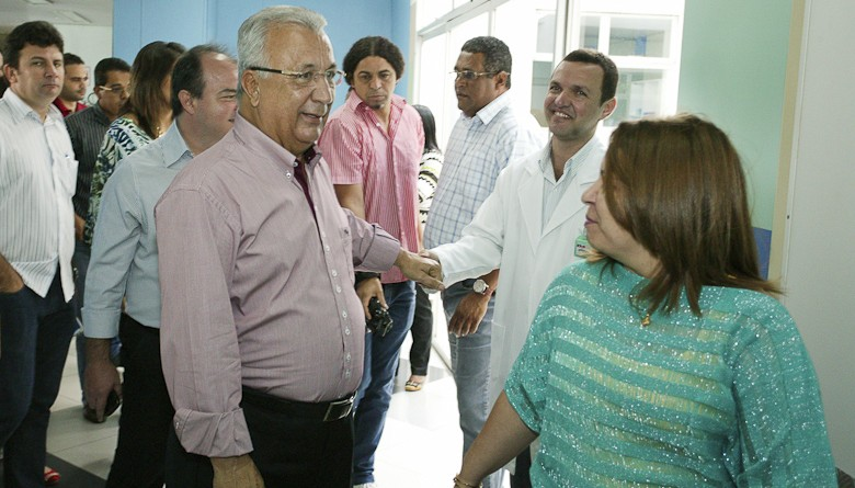 Jackson Barreto visita Centro de Oncologia do Huse e novas instalações do Case