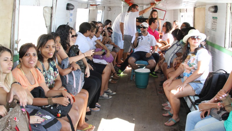 Setur promoveu passeio fluvial na Semana do Turismo