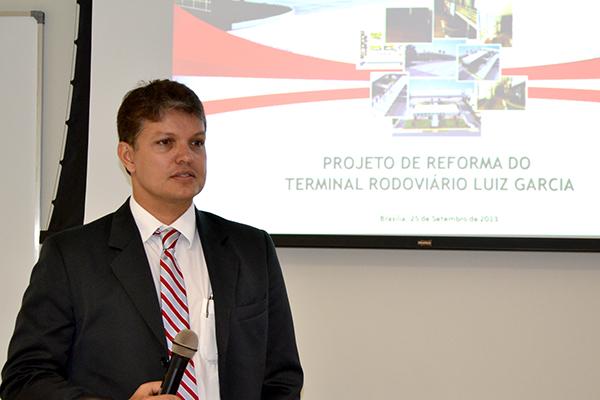 Procuradores participam da apresentação do projeto de reforma do Terminal Rodoviário Luiz Garcia
