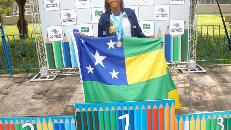 Atletas paraolímpicos da delegação sergipana brilham nas Paralimpíadas Escolares