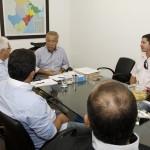 Jackson Barreto recebe lideranças políticas -