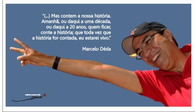 Fala de Marcelo Déda no aniversário de 53 anos