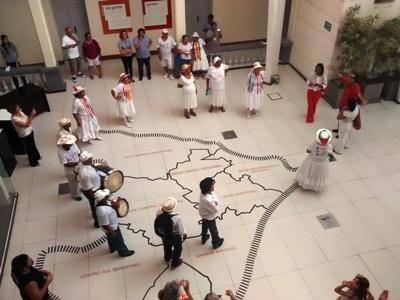 Taieiras de Lagarto homenageiam Marcelo Déda no Museu da Gente Sergipana