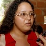 Gislene Reis, historiadora e membro da coordenação estadual do MST