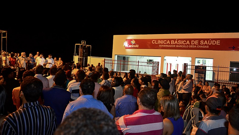 Unidade Básica de Saúde Governador Marcelo Déda Chagas é inaugurada em Canindé