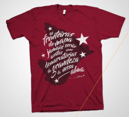 "Camisetas. Série ""Frases de Marcelo Déda"""