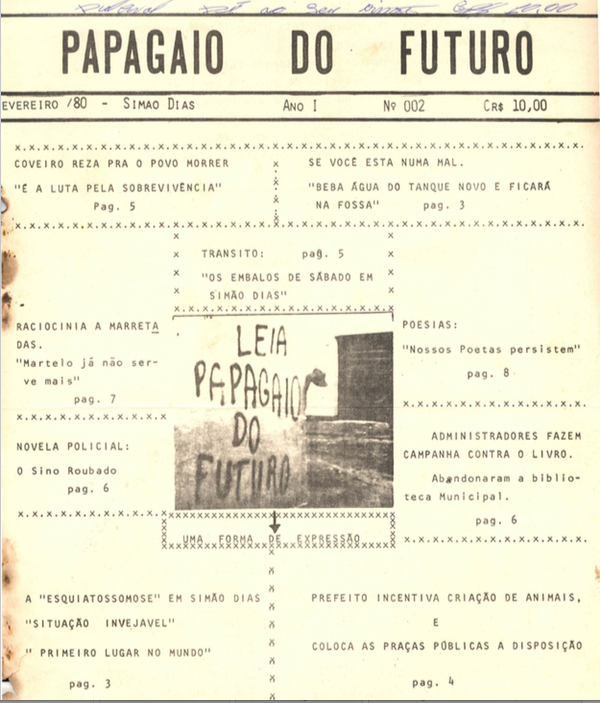 Papagaio do Futuro, 1980